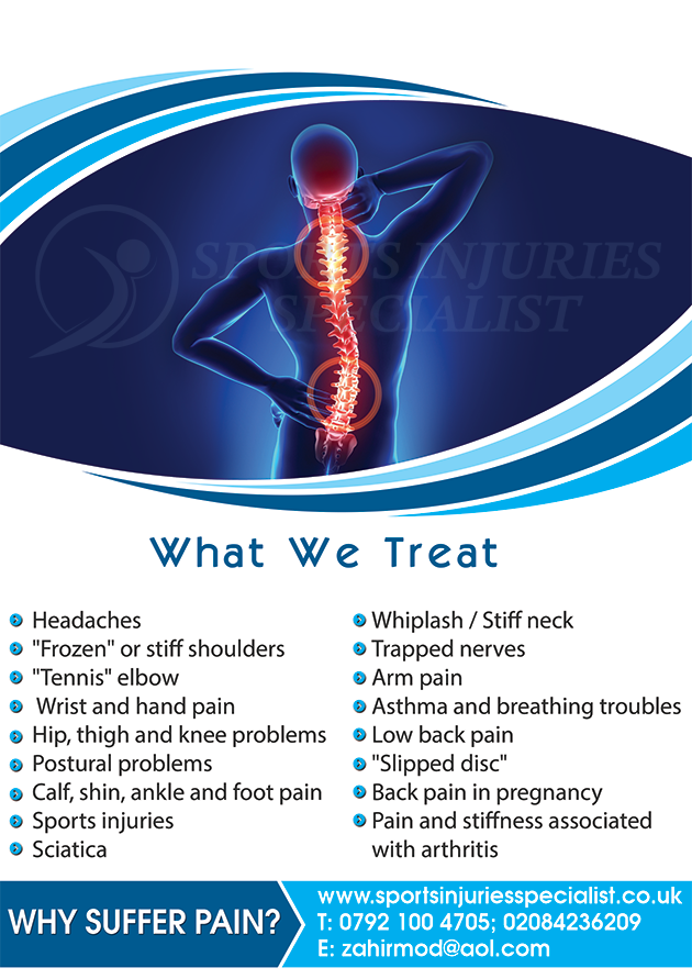 sports injuries specialist